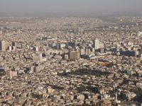 Stadtansicht von Damaskus: Nach Merkels Einladung an die Syrer nach Deutschland zu kommen, sind bald alle hier.