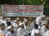 Protest gegen die Koran-Verbrennung