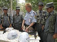 Ausbildung afghanischer Polizisten (Symbolbild)