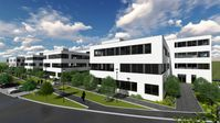"Bürokomplex ""TechPark E17"" in Erlangen. Bild: ""obs/Zinsbaustein"""