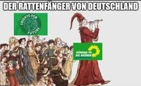 Bündnis 90 / Die Grünen stehen in der Kritik, aber nicht bei allen (Symbolbild)