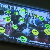 Mood Meter: Signalisiert Laune mit Smileygesichtern. Bild: MIT