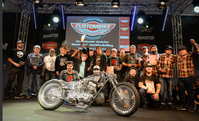 Gruppenbild mit allen Gewinnern der International Custombike Championship Germany 2018