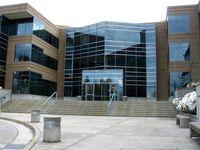 Gebäude Nr. 17 auf dem Microsoft Campus in Redmond, Washington (USA)