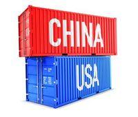 Container China-USA: Deutsche Exporteure leiden.