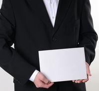Geschäftsmann, Absage, Meinungslos, Politiker und Chef ohne Absicht (Symbolbild)