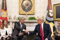 Präsident Lenín Moreno und Präsident Donald J. Trump (2020)