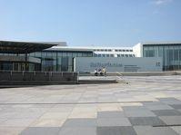 Blick auf den Haupteingang zum Kulturforum Berlin