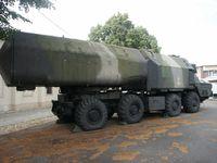 4K51 Rubesch (NATO-Codename: SS-C-3 Styx) der Volksmarine auf Basis eines MAZ-543M