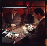 Ein Bankschalter von 1970 (Symbolbild)