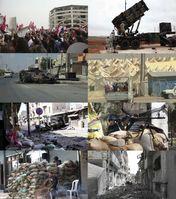 Porträts vom Bürgerkrieg in Syrien