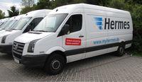 Zustellfahrzeug der Hermes Europe