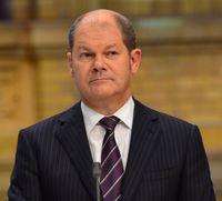 Olaf Scholz im ZDF-Wahlstudio nach der Bundestagswahl 2013