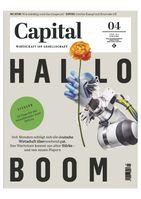 Capital 4_21  Bild: Capital, G+J Wirtschaftsmedien Fotograf: Capital, G+J Wirtschaftsmedien