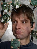 Viele Sensoren: lassen Computer bald riechen und schmecken. Bild: IBM Research