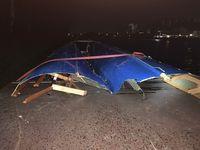 Uelzen/Groß Liedern/Elbe-Seiten-Kanal - Tankmotorschiff versenkt Sportruderboot - fünf Ruderer kentern Bild: Polizei
