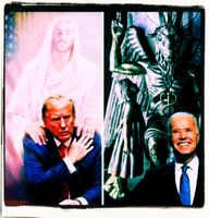 Donald Trump und Joe Biden - Wer gewinnt werden die Gerichte entscheiden (Symbolbild)