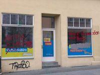 Kein AfD Wahlkampfbüro, nein, ein FDP Wahlkampfbüro nach dem Überfall der ANTIFA-Terroristen nach der demokratischen Wahl eines FDP Ministerpräsidenten (Symbolbild)