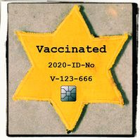 """Immunitätsausweise münden logischerweise in der Kennzeichnung von Menschen ohne """"Immunität"""", die defakto ihre Grundrechte verloren haben (Symbolbild)"""