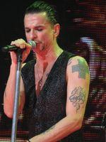 Dave Gahan mit Depeche Mode in der Royal Albert Hall in London 2010