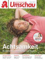 """Titelbild Apotheken Umschau AU A 8/2019. Bild: """"obs/Wort & Bild Verlag - Gesundheitsmeldungen"""""""