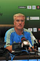 Deschamps in September 2011 als Trainer von Marseille.