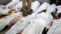 Leichen von Mursi-Anhängern