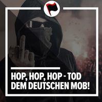 """Parollen der Anti-Deutschen """"Antifa"""": Massenmord gegen Deutsche als scheinbar legitimes Mittel für...? (Symbolbild)"""