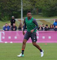 Jérôme Boateng auf dem Gelände des FC Bayern München (2017)