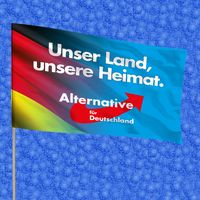 Alternative für Deutschland (AfD) Flagge