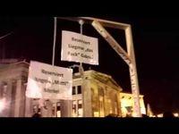 """Screenshot aus dem Youtube Video """"Pegida jetzt am Galgen der Plutokratie ?"""""""