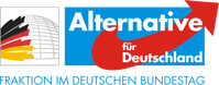Logo der AfD (Alternative für Deutschland)-Bundestagsfraktion