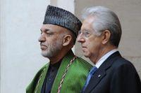 Goldman-Monti und Drogenboss Karzai: Mafiosi unter sich. Bild: voltairenet.or