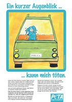 Auf der Website von PETA (den Link sehen Sie im Artikel) könne Sie dieses Poster als PDF herunterladen und zuhause ausdrucken! (c) PETA