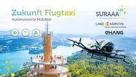 Automatisiertes Flugtaxi, Bild: Fotomontage