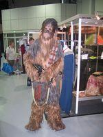 Chewbacca war auch da.