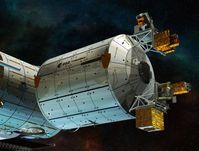 Voraussichtlich bereits 2014 soll mit ACES, Atomic Clock Ensemble in Space, ein erster hochpräziser Atomuhr-Prototyp, in das Raumlabor Columbus der Internationalen Raumstation ISS gebracht werden. Quelle: Bild: European Space Agency ESA, D. Ducros (idw)