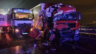 Verkehrsunfall A61 Bild: Polizei