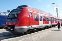 Präsentation der Baureihe 430 auf der InnoTrans 2012