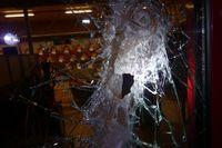 Sicherheitsglas hielt Einbrechern stand Bild: Polizei