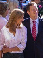 Georg Friedrich Prinz von Preußen, der Chef der brandenburg-preußischen Hohenzollern, und seine Ehefrau Sophie (2011), Archivbild