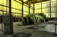 Industriebrachen & Deindustriealisierung & altes Kraftwerk (Symbolbild)
