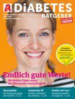 Titelbild Diabetes Ratgeber März 2021.  Bild: Wort & Bild Verlag Fotograf: Wort & Bild Verlag
