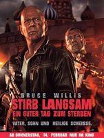 """Kinoplakat von """"Stirb langsam – Ein guter Tag zum Sterben"""""""