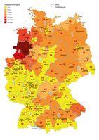 Regionale Zuordnung der Abgabemengen nach Postleitzahl-Bereichen Quelle: Quelle: BVL (idw)