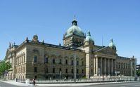 Sitz des Bundesverwaltungsgerichtes im Reichsgerichtsgebäude in Leipzig (Blickrichtung Westen)