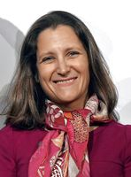 Chrystia Freeland, 2017
