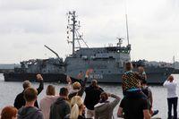 Minenjagdboot FULDA am 05. August 2016