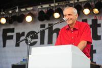 """Thilo Weichert auf der Demonstration """"Freiheit statt Angst"""""""