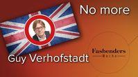 "Fasbenders Woche: ""No more Guy Verhofstadt"""